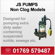 JS Pumps (Non Clog Models)