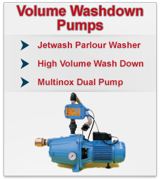 Volume Washdown Pumps